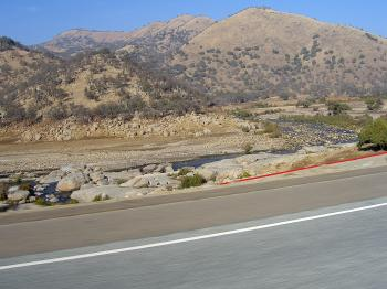 Driving by the River & Mountains