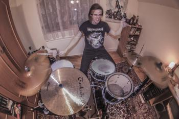 Drum training on fisheye