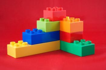 Duplo lego toy blocks