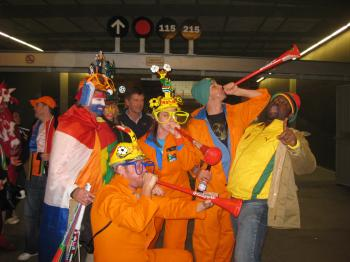 Dutch Fans in Green Point Stadium