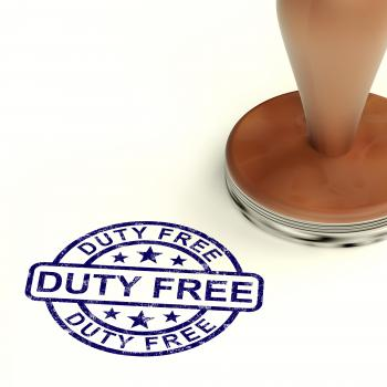 Duty Free Stamp