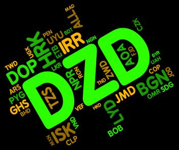 Dzd Currency Indicates Forex Trading And Algeria