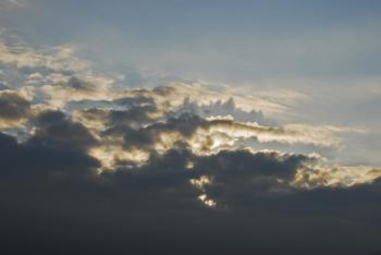 Early Morning Rain Clouds (Image 3 of 7)