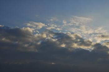 Early Morning Rain Clouds (Image 7 of 7)