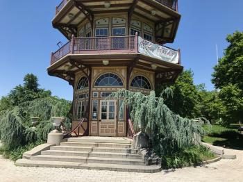 East side, Patterson Park Pagoda, Patterson Park near E. Pratt Street and S. Patterson Park Avenue, Baltimore, MD 21231