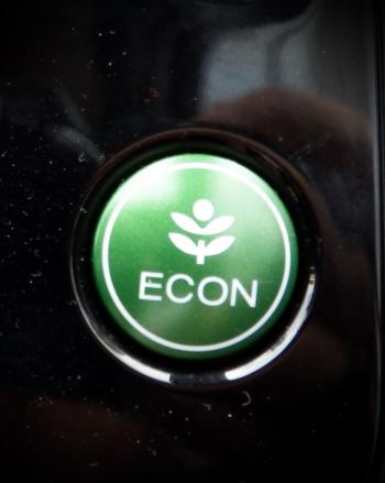 Eco Car Econ Icon