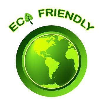 Eco Friendly Shows Earth Day And Environment