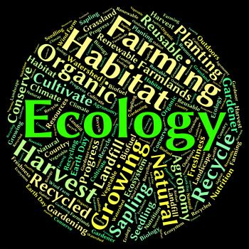 Ecology Word Indicates Protected Protection And Earth
