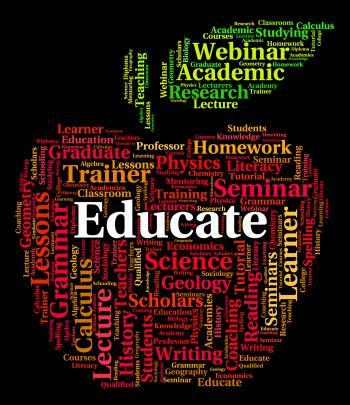 Educate Word Means Develop Studying And Schooling