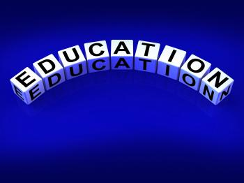 Education Blocks Represent Training and Learning to Educate