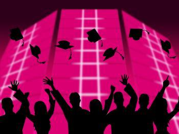 Education Graduation Shows Educating Graduates And Graduate