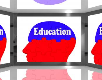 Education On Brain On Screen Shows Human Learning
