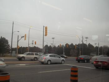 Eglington, from the window of the streetcar -bt