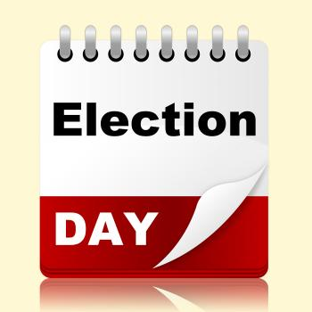 Election Day Indicates Month Poll And Appointment