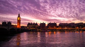 Elizabeth Tower during Golden Hour