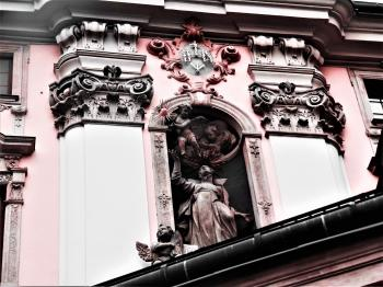 Embossed Statue