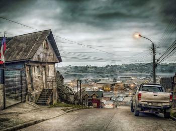 En cerro Millantuy, calle