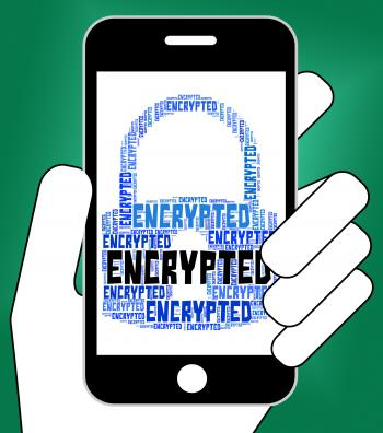 Encrypted Word Means Encryption Words And Password
