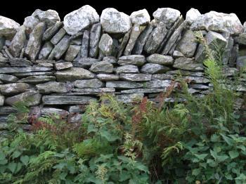 English Slate Wall