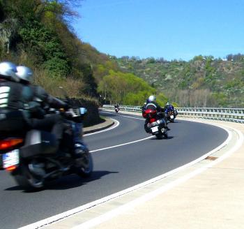Enjoying a Motorcycle Ride