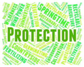 Environmental Protection Means Earth Day And Conservation
