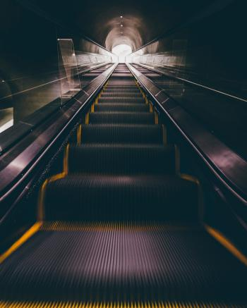 Escalator at the Store