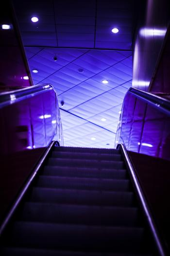 Escalator Photograph