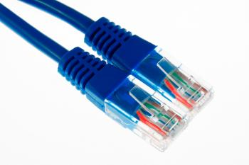 Ethernet Cables Close-up