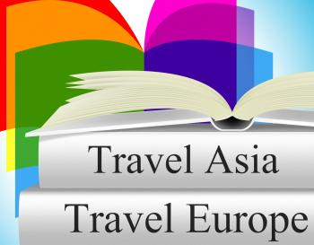 Europe Books Means Travel Guide And Asia