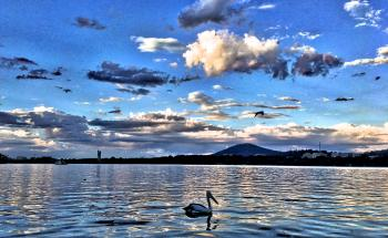 Evening on Lake Burley Griffin