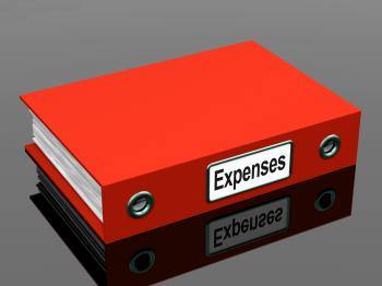 Expenses File Shows Accounting And Records