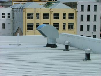 Extract Vent on Roof