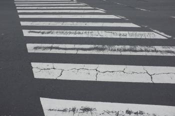 Faded Japanese Crosswalk
