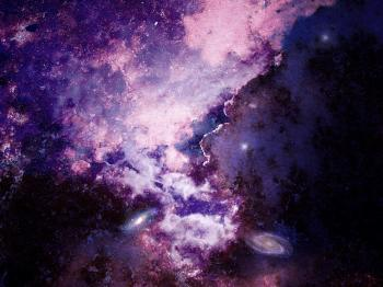Fantasy Deep Space Night Sky