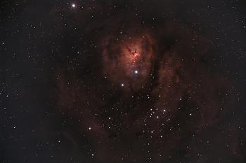 Fantasy Deep Space Night Sky