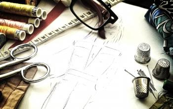 Fashion design - The working tools of a couturière