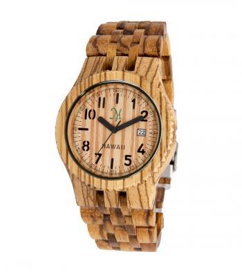 Fashionable wood watch