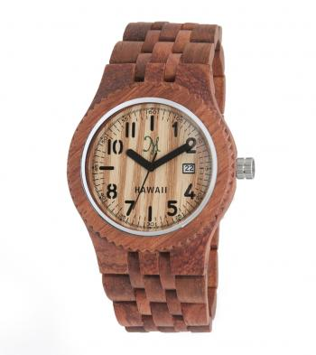 Fashionable wood watch