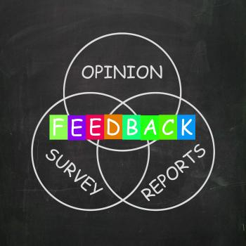 Feedback Gives Reports and Surveys of Opinions