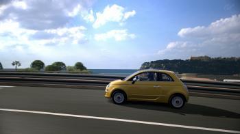 Fiat 500 @ Monaco (Unedited shot).