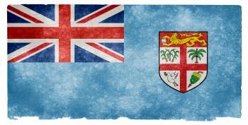 Fiji Grunge Flag