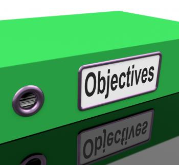 File Objectives Means Goals Mission And Plan
