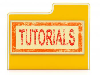 File Tutorials Indicates Study Folder And School