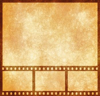 Film Strip Grunge Template