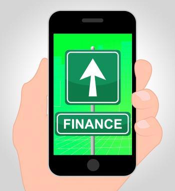 Finance Folder Represents Financial Investment 3d Illustration