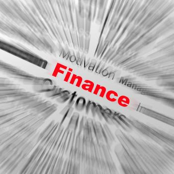 Finance Sphere Definition Displays business Finances Or Incomes