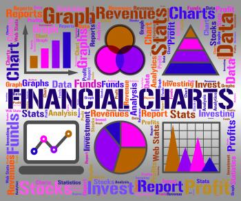 Financial Charts Shows Business Graph And Banking