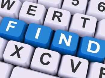 Find Keys Show Search Research Or Looking Online