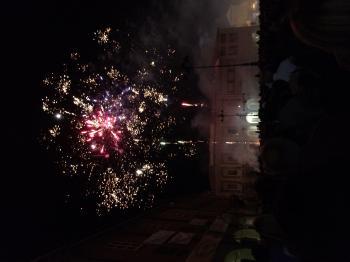 Fira di Sett Dulur Russi 2014 - fuochi d'artificio