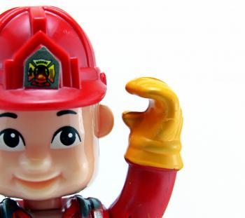 Fireman toy